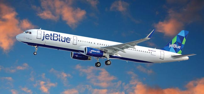 Jet Blue Airlines fly from Atlanta